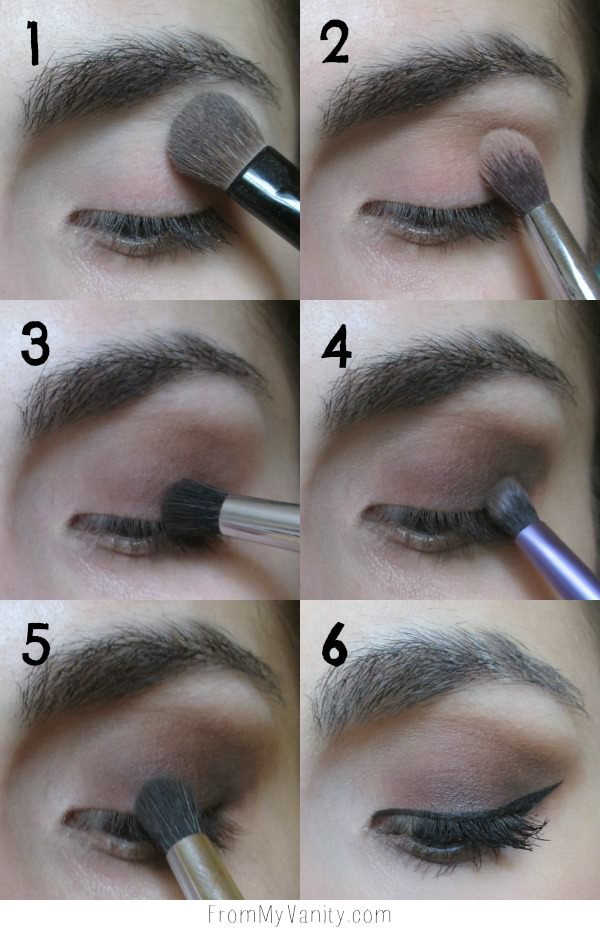 Daytime Smokey Eye Tutorial Step By Step Instructions